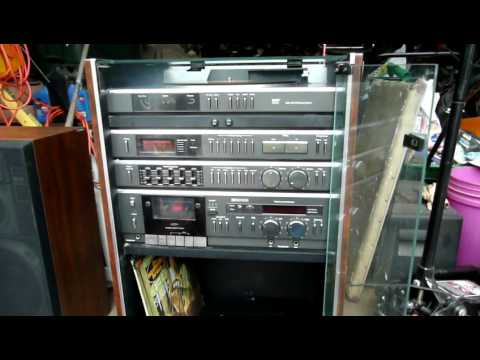 JC Penney MCS 2230 Stereo System Overview And Restoration   YouTube