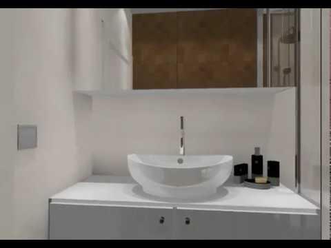 Rénovation d\'une salle de bain de 4 M² - YouTube