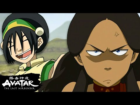 Toph's Most Earth-Shattering Nicknames EVER ⛰🗣 | Avatar
