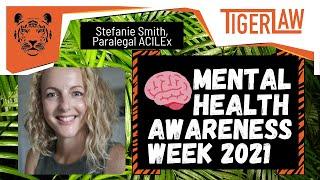 Mental Health Awareness Week 2021 with Stefanie Smith
