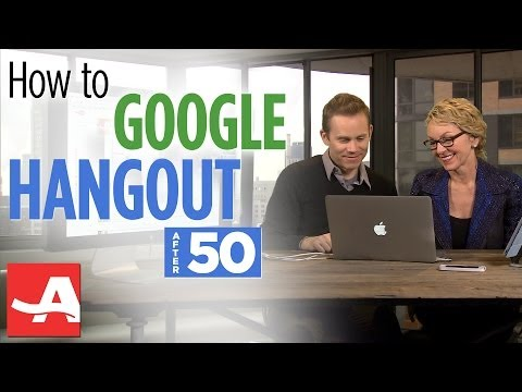 HOW TO DO A GOOGLE HANGOUT | The Best of Everything with Barbara Hannah Grufferman | AARP