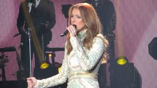 Celine Dion - Water and a Flame (Sportpaleis Antwerpen, 21-11-2013)
