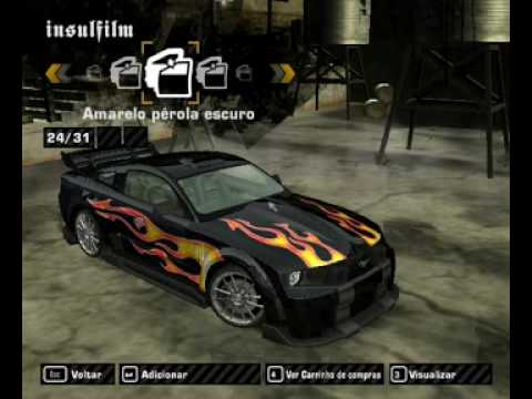 Need For Speed Most Wanted Mustang Razor Com Vilnys Tbm