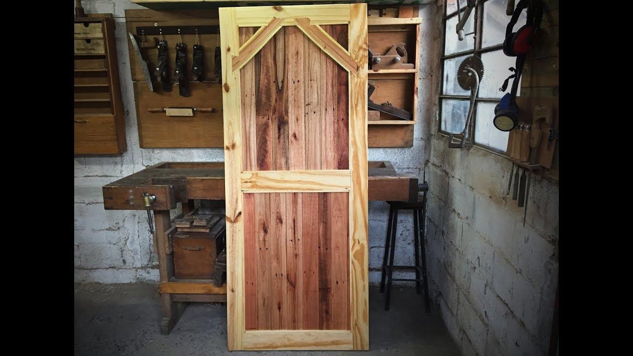Puerta Granero Con Pallet Y Madera De Obra Cheap Barn