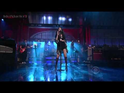 HD] Selena Gomez  Come & Get It - David Letterman 4-24-13