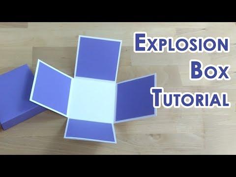 [Tutorial + Template] Tealight Cake Explosion Box