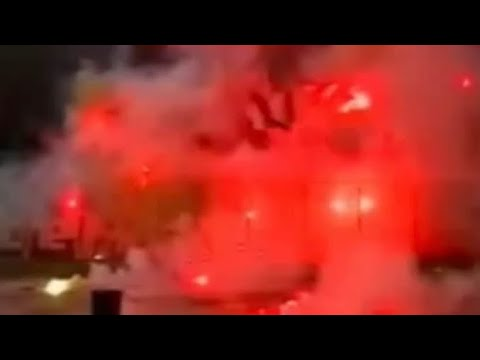 Lazio-AS ROMA 2005 video tifo Curva Sud