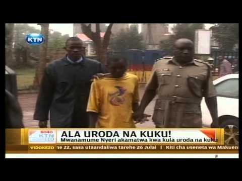 Mwanamme Nyeri akamatwa kwa kufanya Ngono na kuku