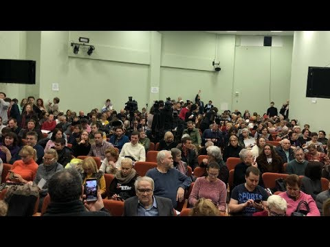 Публичные слушания по изменению ПЗЗ в Москве.Большая Никитская 17 / LIVE 17.01.19