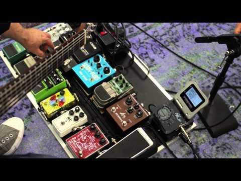 What's On Tim Pierce's Session Pedalboard And How He Get's Sounds