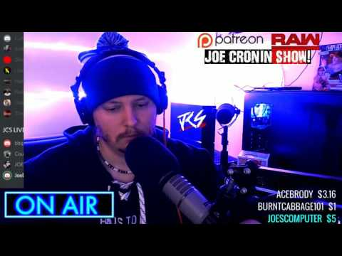 Sean invades the Joe Cronin show