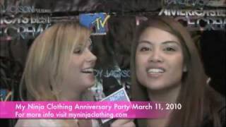 Maryss & Angelica Invites You To My Ninja Clothing Anniversary Party