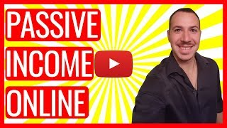PASSIVE INCOME ONLINE IDEAS - REAL PASSIVE INCOME ONLINE IDEAS TO MAKE MONEY ONLINE