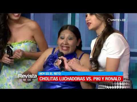CUMBIA DE HOY - LAS CHOLITAS LUCHADORAS NO PERDONARON A RONALD Y PIKI Y RECIBIERON TREMENDA PALIZA