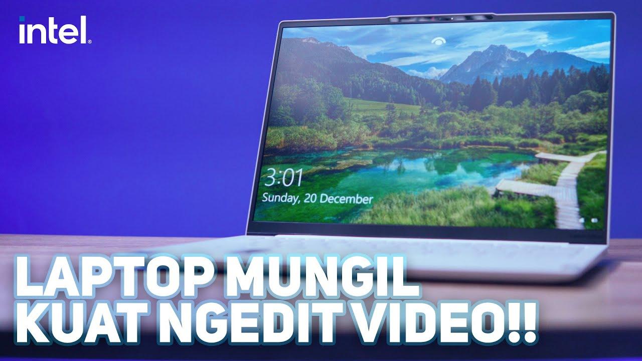 Laptop Kecil yang Bisa Dipakai Ngedit Video - Lenovo Yoga Slim 7i Carbon  (Intel Core 11th Gen)