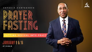 Special Message from Pastor Mansfield Edwards | Day of Prayer and Fasting 2021
