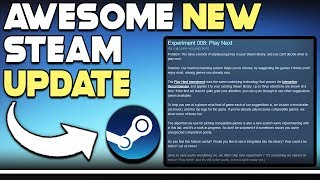 AWESOME New Steam UPDATE + NEW Steam Game BREAKING RECORDS!