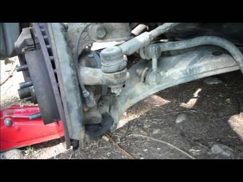 How to replace ball joint Toyota Corolla Years 1995 to 2008  YouTube