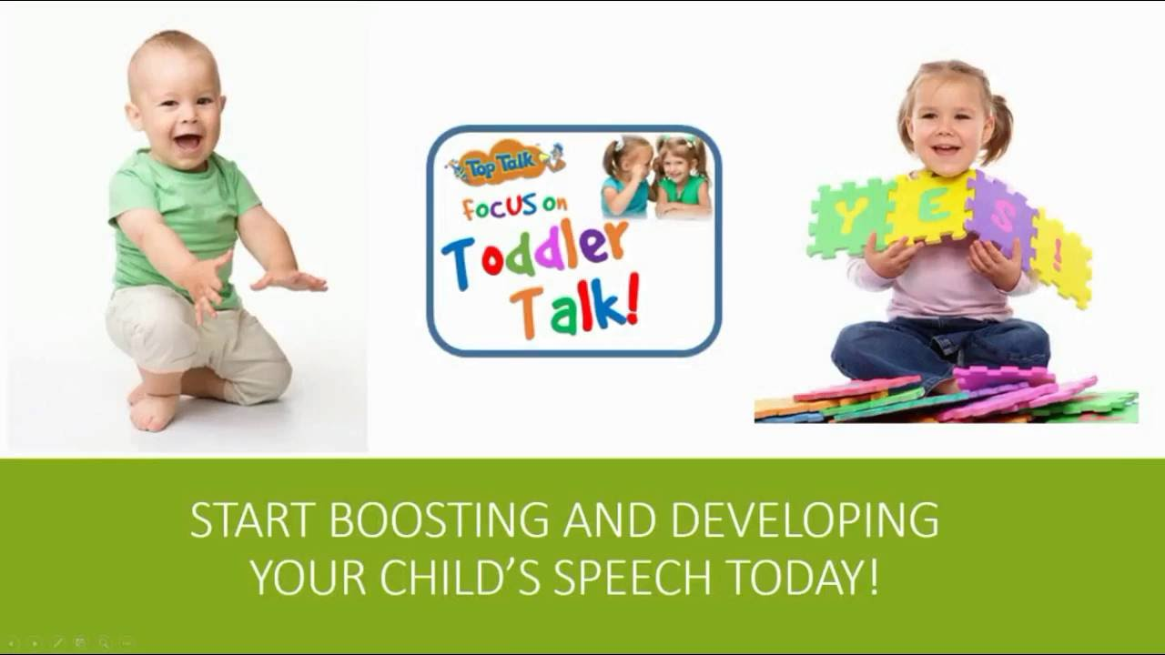The development of speech in children: the first words of the baby