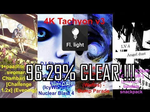 FIRST EVER TACHYON V3 +FLASHLIGHT CLEAR  + BRUH MOMENT AT END LMAO