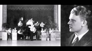 UNHOITA MINUT, Veli Lehto ja Seminola-orkesteri v.1932