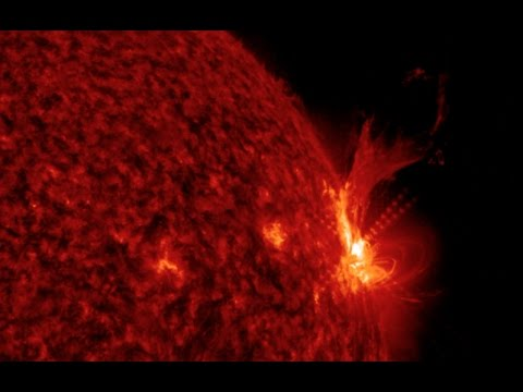M6.5 Earthquake, M5+ Solar Flare | S0 News Apr.4.2017