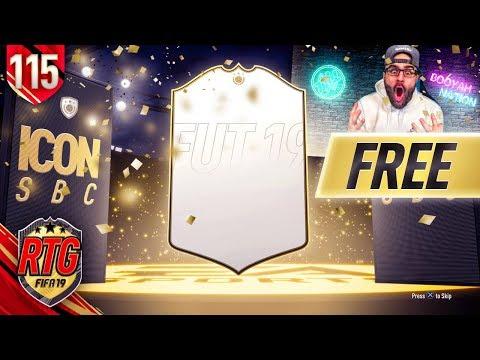 OMG I GOT A FREE ICON!!! FIFA 19 Ultimate Team RTG #115 thumbnail
