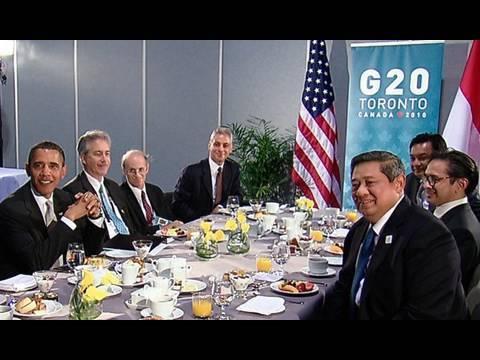 President Obama & Indonesian President Yudhoyono at G20 Summit