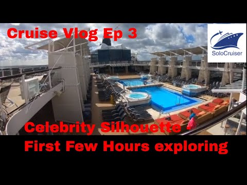 Celebrity Silhouette First few Hours Cruise Vlog Ep 3