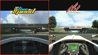 ASSETTO CORSA vs LIVE FOR SPEED @ Blackwood