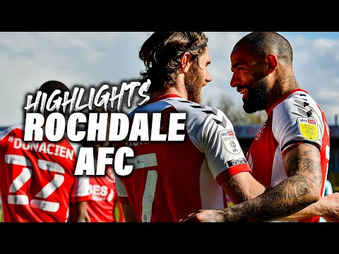 Fleetwood Town Rochdale Goals And Highlights