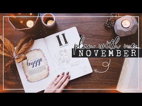 PLAN WITH ME | November 2019 Bullet Journal Set Up