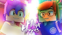 High Hopes - Panic! At The Disco   Minecraft Music Video (OriginZ)