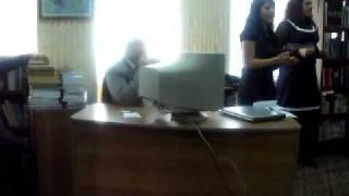 "Prezentare ONG ""Carpe Diem"" la Biblioteca ""Alba Iulia"""
