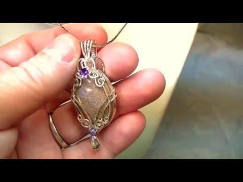 Louisiana Opal Pendant