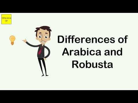 Differences of Arabica and Robusta