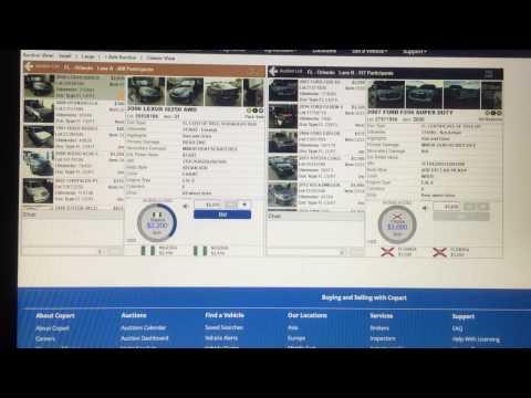 Nigerians bidding on USA online car auction