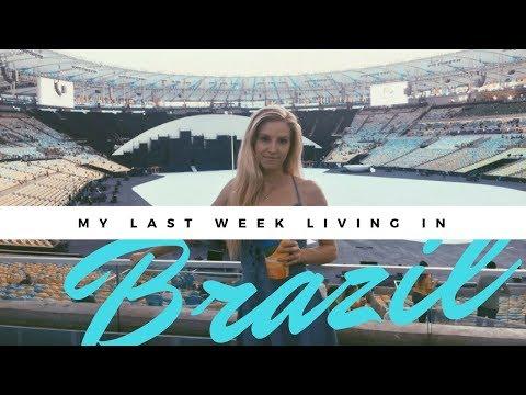 Travel Vlog | My Last Week Living in Brazil | S&P Vlogs