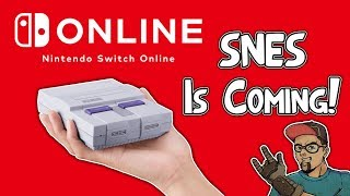 SNES Games Coming To Nintendo Switch Online Service!