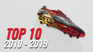 TOP 10 - Lionel Messi Football Boots (2010-2019)