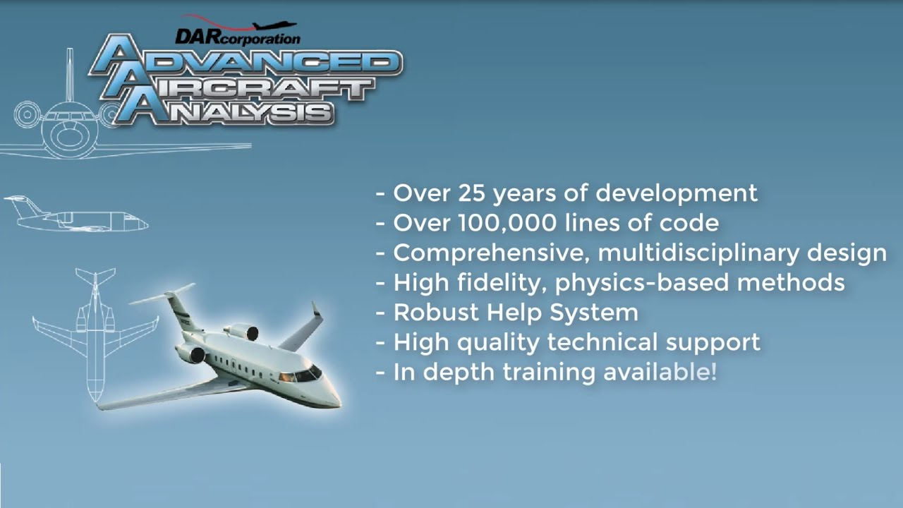 Advanced Aircraft Analysis (AAA) Videos Tutorials