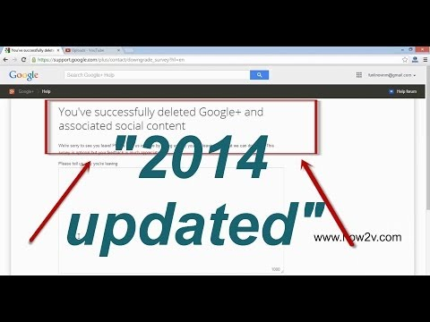 how to delete google plus account 2014 - how to remove google plus account 2014 (32 sec) - 동영상