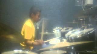 Rizal drum cover - Its my life - Bon Jovi, Istana Musik Jombang