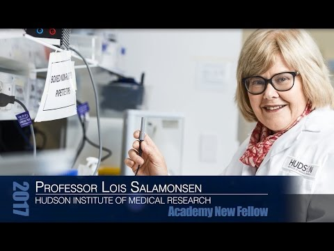 New Fellows 2017:  Professor Lois Salamonsen, Hudson Institute of Medical Research