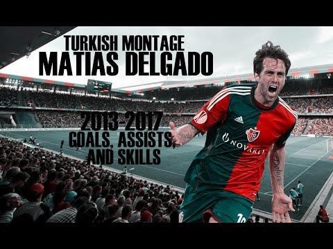 Matias Delgado - 10 - Goals,Assists,Skills - FC Basel - 2013-2017