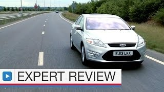 Ford Mondeo saloon expert car review(The Ford Mondeo is the best to drive out of the large family saloon class. It looks good, too, but can it take the fight to more premium rivals? Subscribe for more ..., 2014-05-20T17:41:30.000Z)