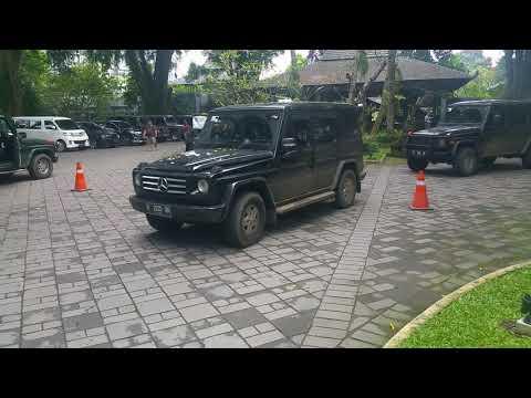 Mercedes Jip Indonesia (g Class) At Yogyakarta Indonesia