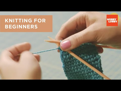 Knitting Basics: Getting Started
