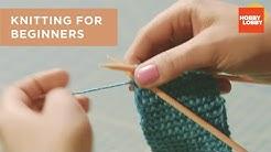 Knitting for Beginners | Hobby Lobby®