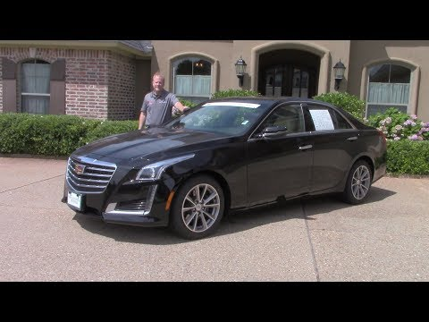 2019 Cadillac CTS Review And Test Drive